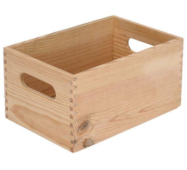 Caja De Madera Basic Ref 13909154 Leroy Merlin   Cosas De Madera Para Hacer    Ciboney