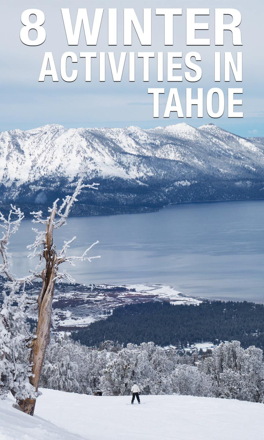 Lake Tahoe Winter Wallpaper Desktop Background: Eight Adventures To Have In South Lake Tahoe In The Winter