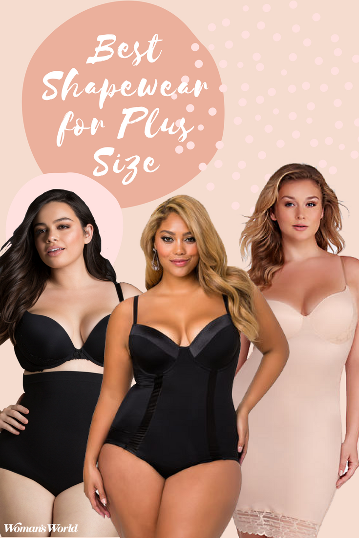 ef076db4d2c We have the 17 best shapewear for plus size women. Find your best fit for  highlighting your fabulous curves.  plussize  curvygirl  style  shapewear
