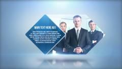 Clean And Simple Corporate Presentation Business Commercial Intros - After effects commercial template