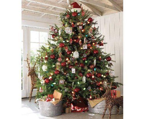 Arboles de navidad decorados 2016 2017 80 fotos y - Arboles navidad decorados ...
