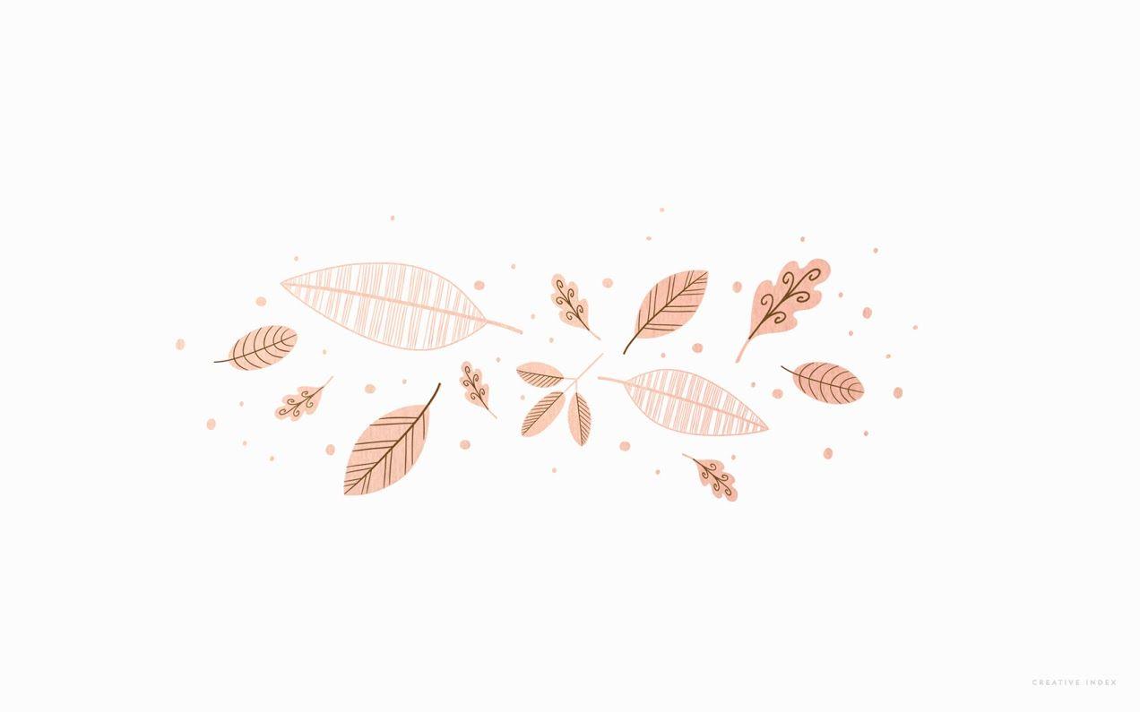"""Hurra, I made it! Trotz fieberndem Kind und Onlineshop, hier sind sie, die schönsten Desktop Wallpaper für November: Ruft schon ein bisschen """"Huhu, bald ist Weihnachten!"""" – der wunderschöne und schlichte Desktop Hintergrund von We love handmade. Ein Blätterreigen in Rosé-Gold, ein Traum! Desktop Wallpaper von Creative Index. Mit dem Desktop Wallpaper von Always Mod holen wir uns den goldenen Herbst auch auf den Bildschirm. Halloween ist zwar schon vorbei, aber die knalligen Kürbisse inklus..."""