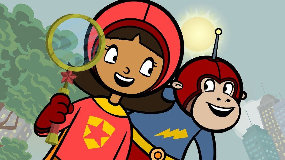 WordGirl and Huggy Face | WordGirl | Pinterest | Face and ...