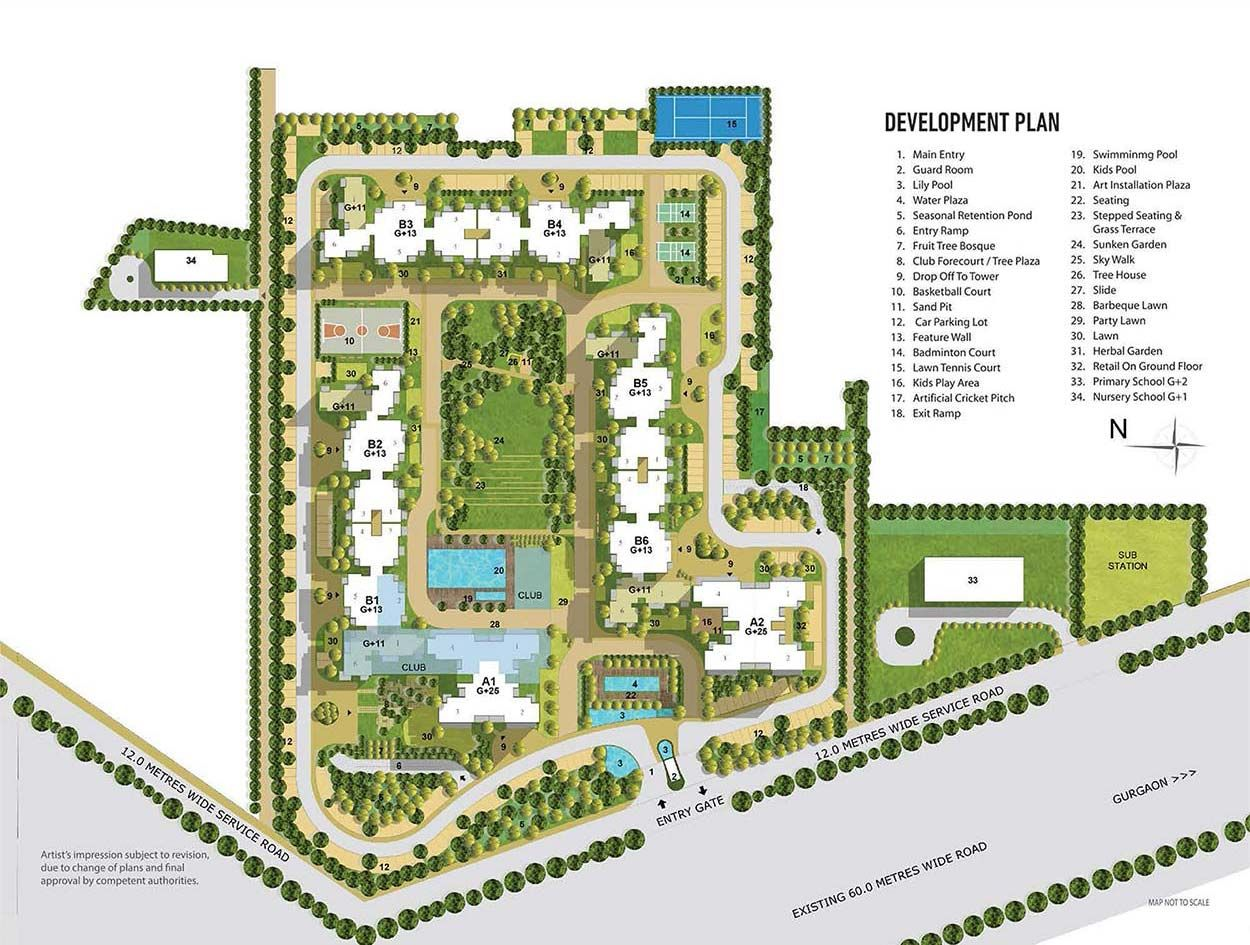 Tata housing sector 150 noida are not just homes but a for Residential site plan