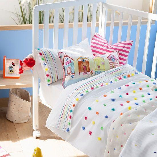 Ropa de cama infantil alegre y veraniega de zara home kids - Ropa de hogar zara home ...