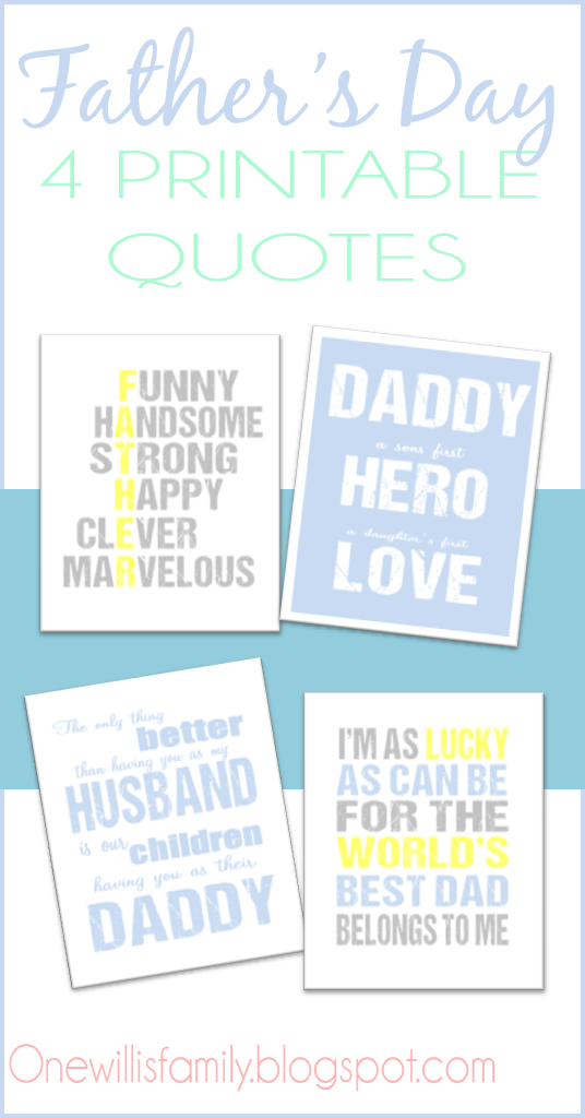 Father\'s Day Printable Quotes | The Best of the LDS Blogs | Pinterest