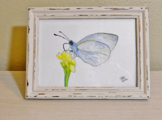 Butterfly painting original butterfly by sunshinethicket on Etsy