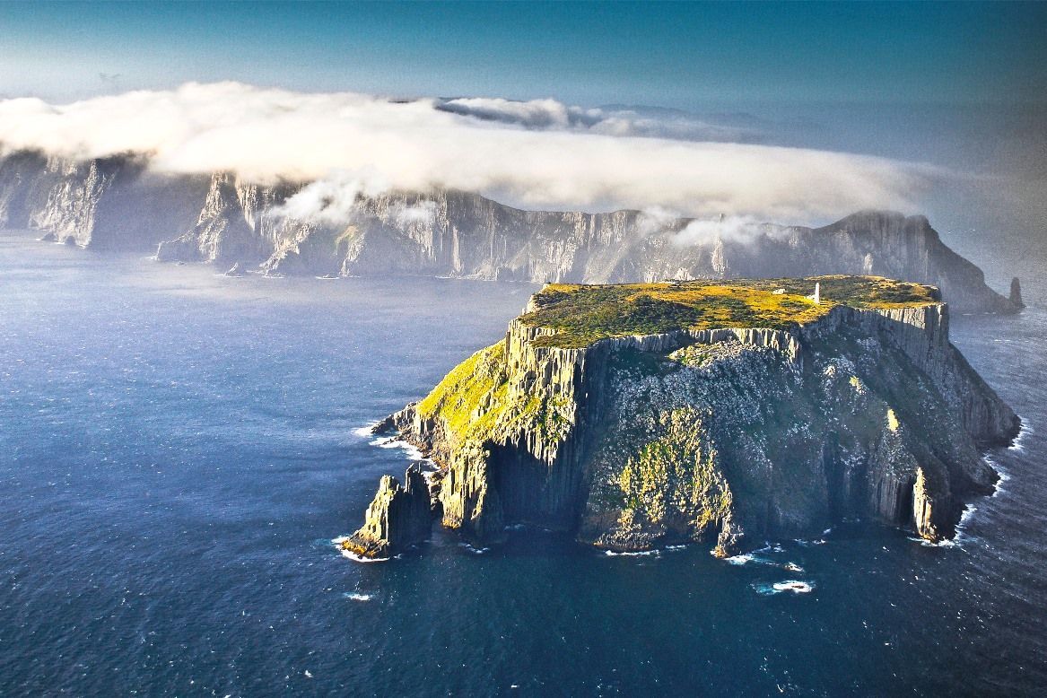 Isla de Tasmania.
