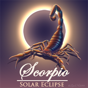 Scorpio Solar Eclipse October 23, 2014