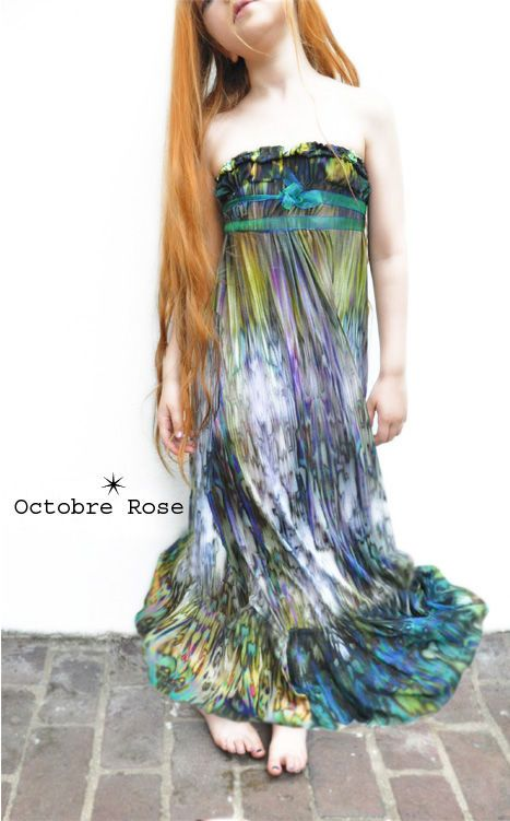 robe impressionniste