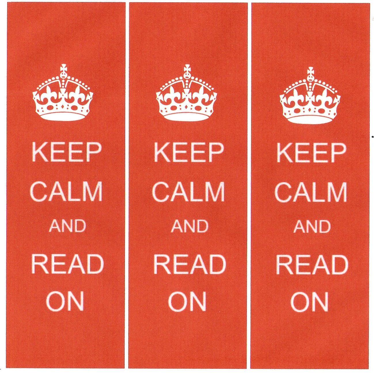 Printable Bookmarks Keep Calm | Activity Shelter | Printable ...