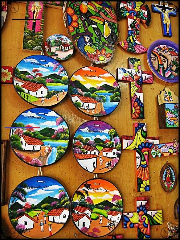 La Palma, El Salvador: A colorful town - #elsalvadorfood ...