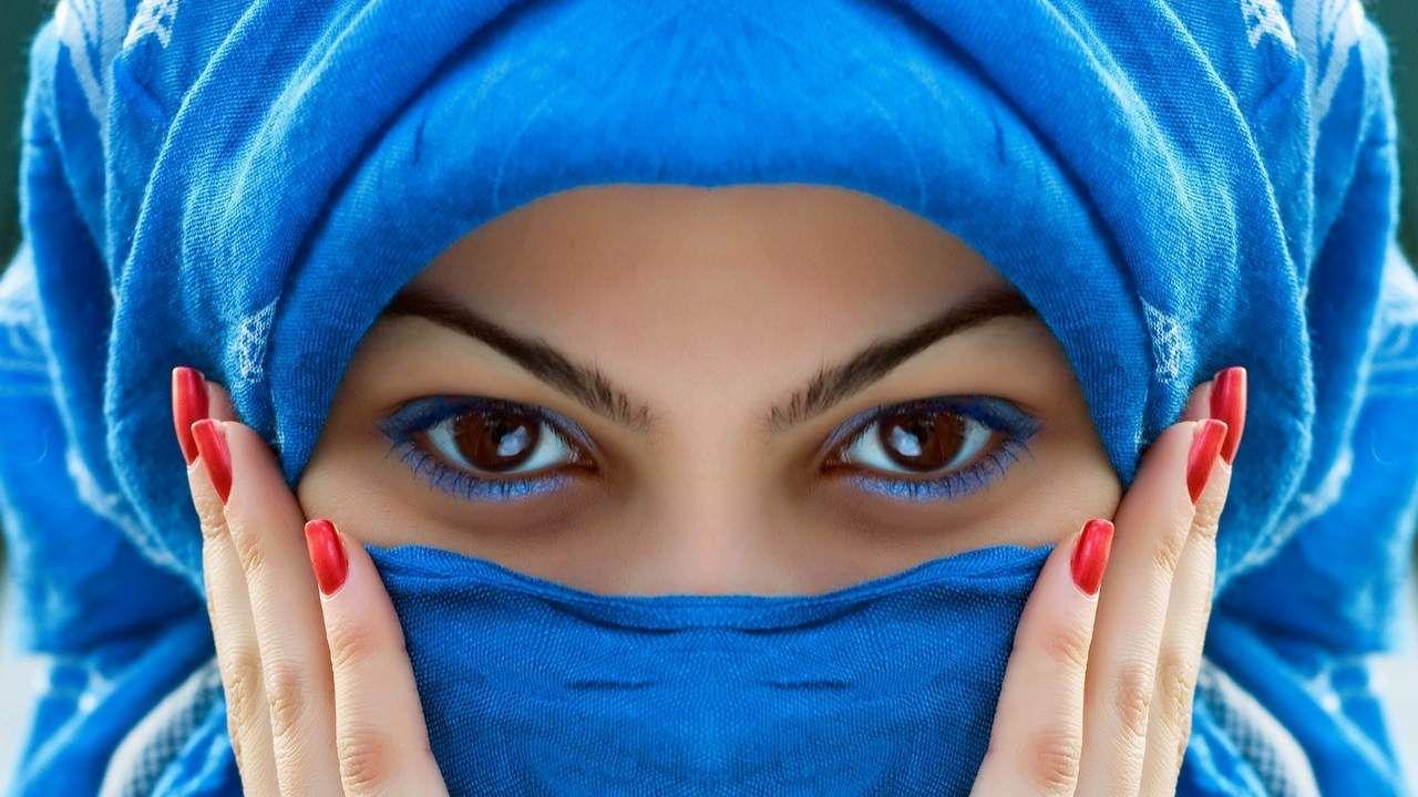 Arabian Beautiful Girl Eyes Hd Wallpaper Beautiful Women