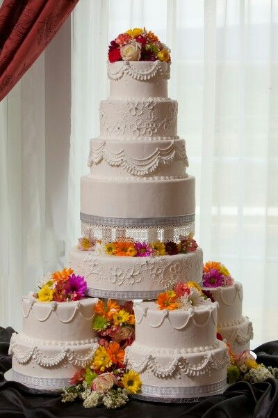 Indian Weddings Inspirations White Wedding Cake Repinned By