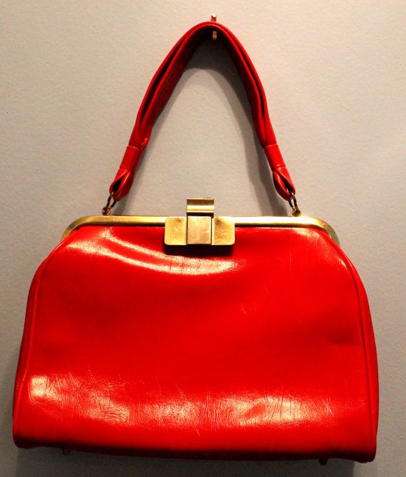 Cherry Red Handbag | Cherries, Etsy and Handbags