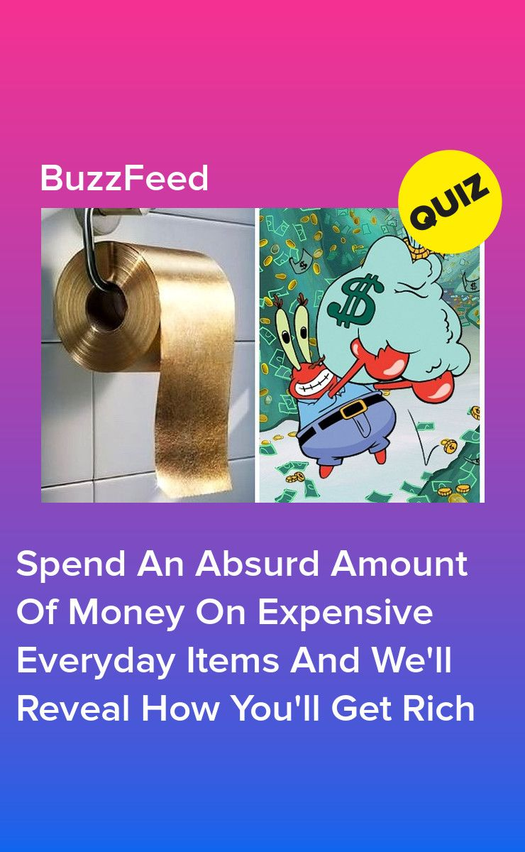 Choose Seven Ridiculously Expensive Everyday Items And We