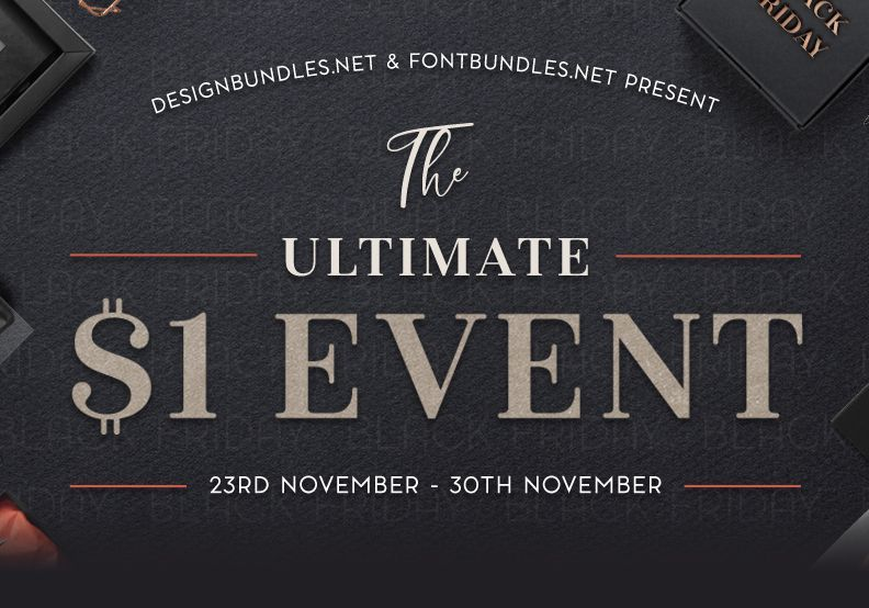 Download The Ultimate $1 Event has arrived for all creatives, with ...