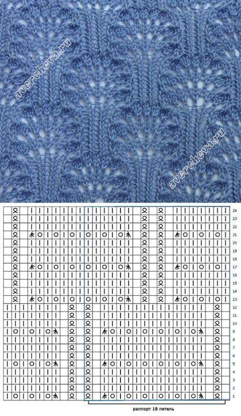 Красивые узоры спицами | Knitting | Pinterest | Knitting, Knitting ...