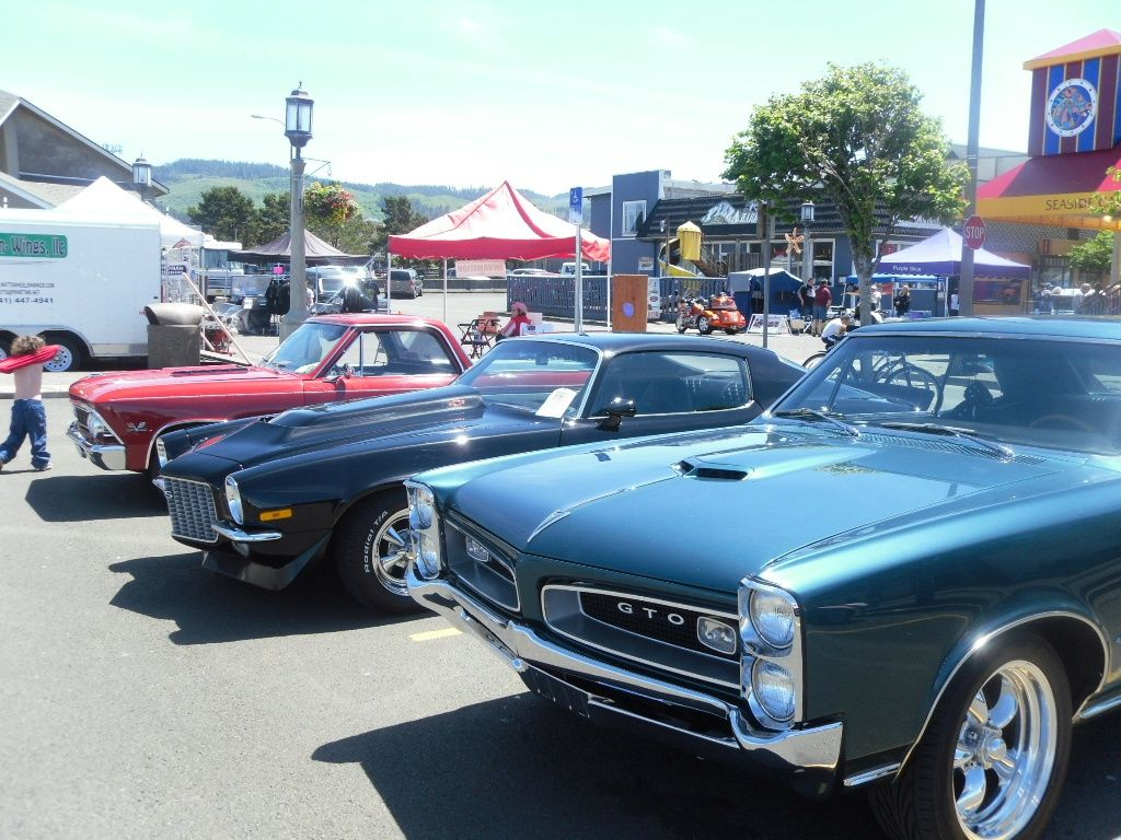 The Muscle N Chrome Car Show In Seaside Oregon Events In Seaside - Seaside oregon car show