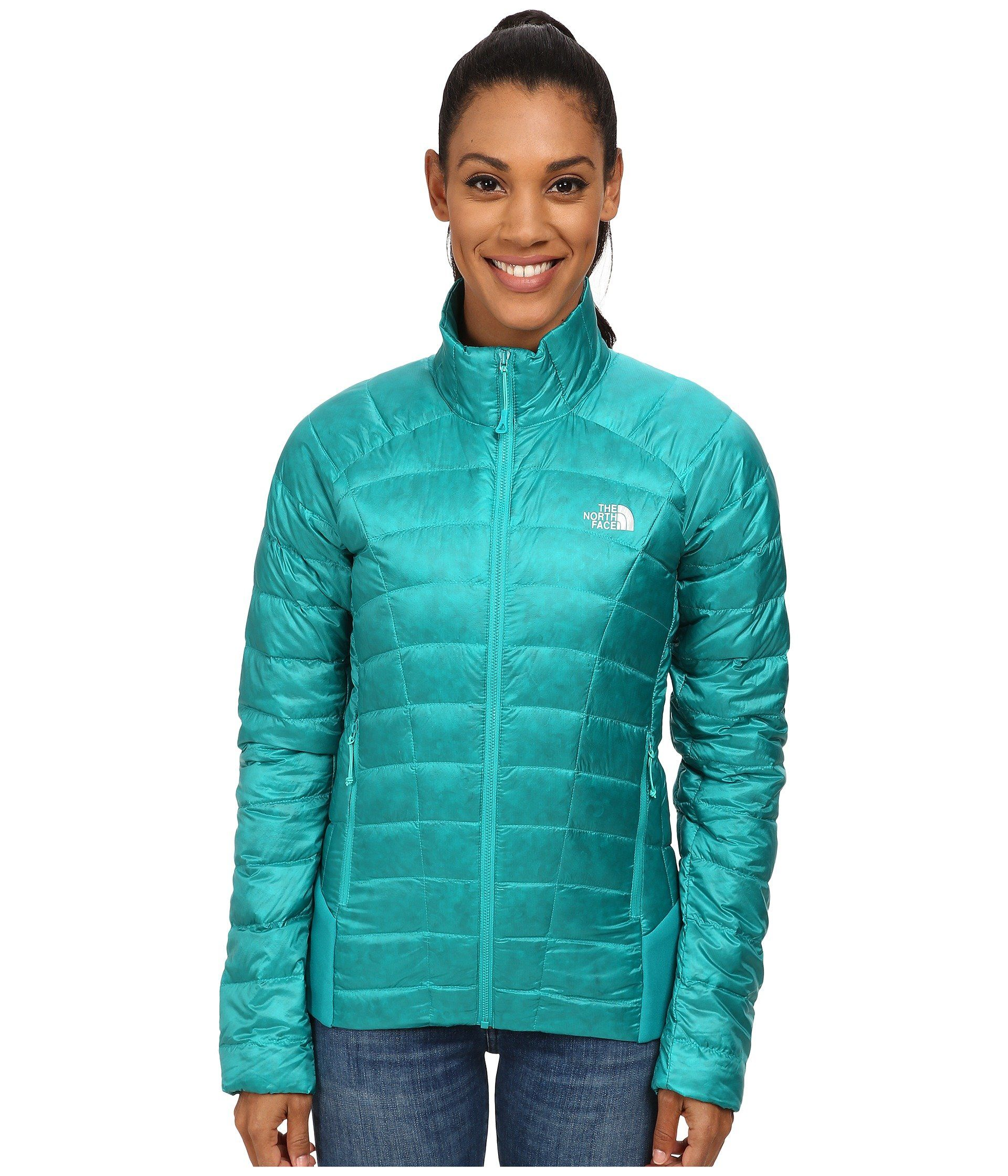 The North Face Women S Quince Down Jacket Kokomo Green X Large Lightweight Highly Compressible And Insulating The North Face Women Jackets Coats For Women [ 2240 x 1920 Pixel ]