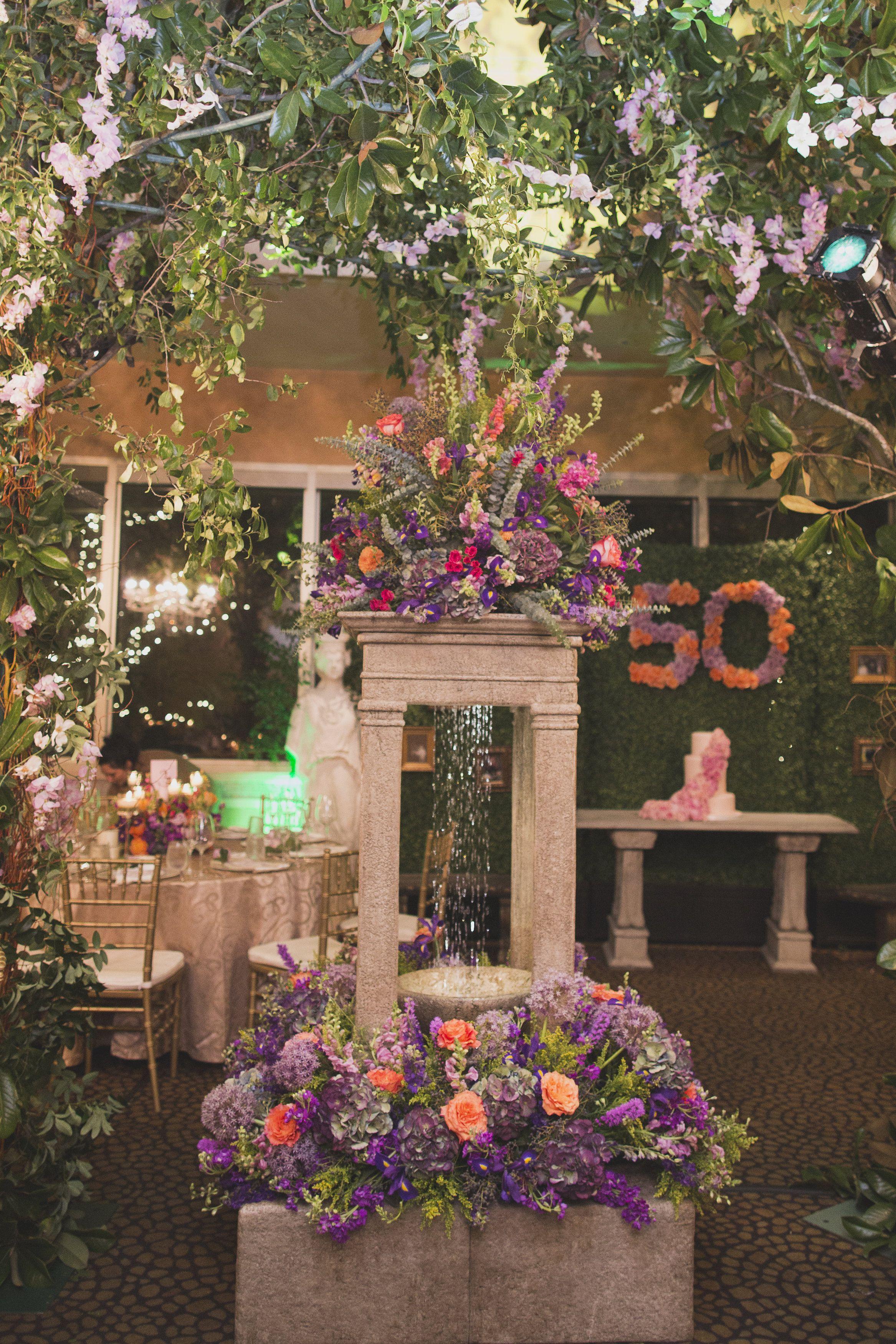 Secret Garden Party, Indoor Fountain | Secret Garden Bash ...