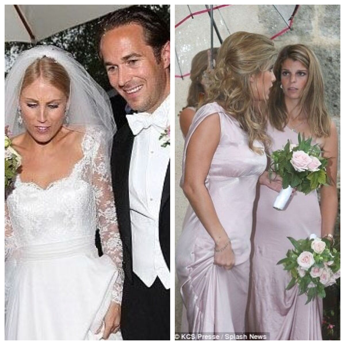 Sandrine Roussel Wedding Athina Onassis Was A Bridesmaid In Her Half Sisters