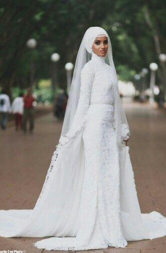 The Modest Bride   Abendmode #Hijab   Pinterest   muslimische ...