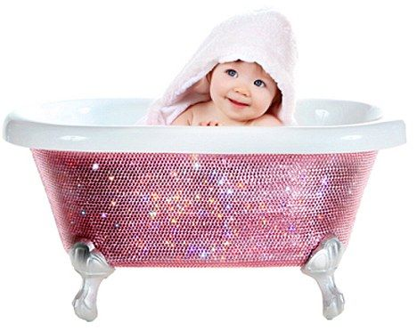 This Bath Comes With Bling Baby Beyonce S Bathroom