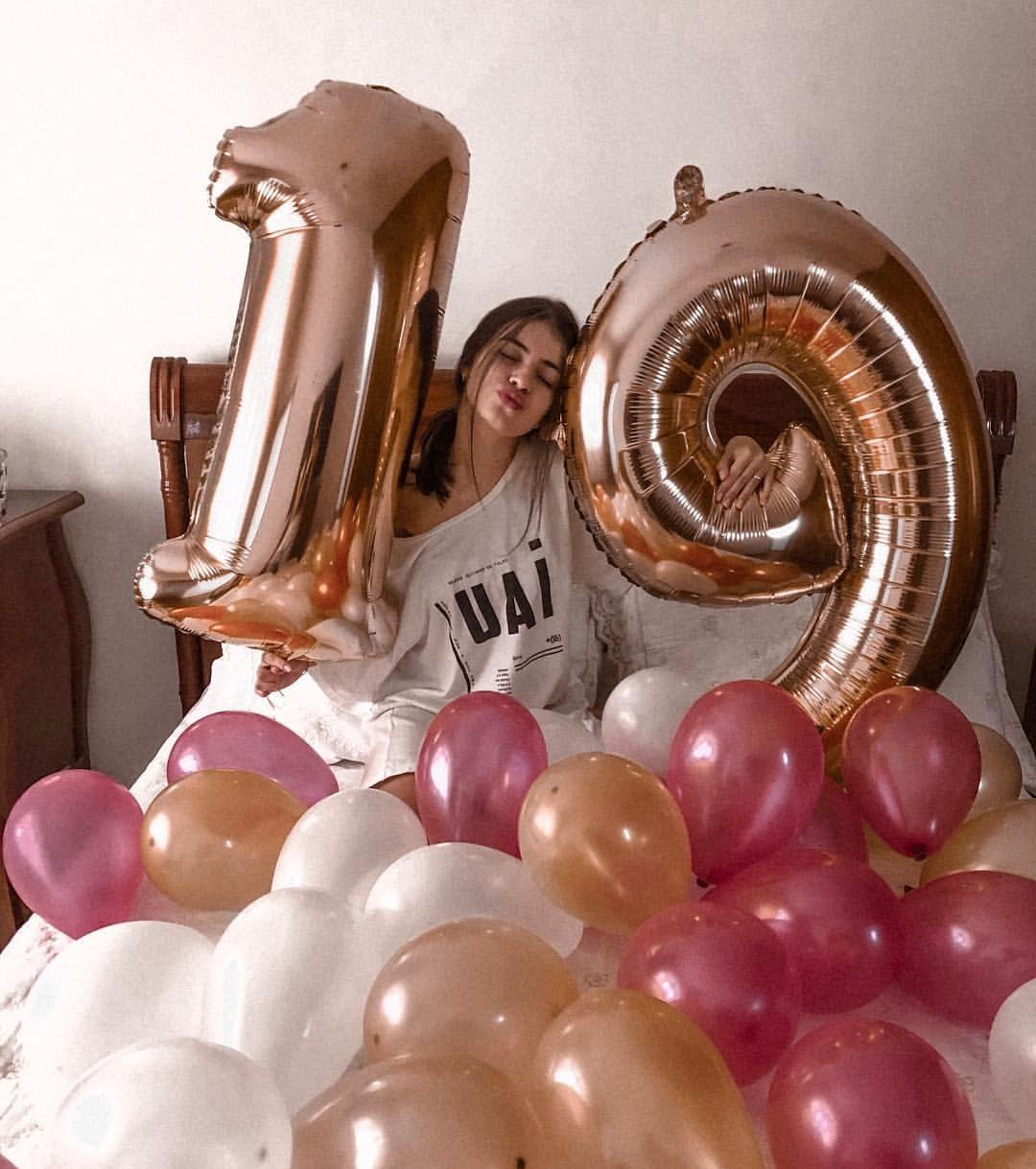 Feelin 19 Marianalomeu Aniversario De 19 Anos Baloes De