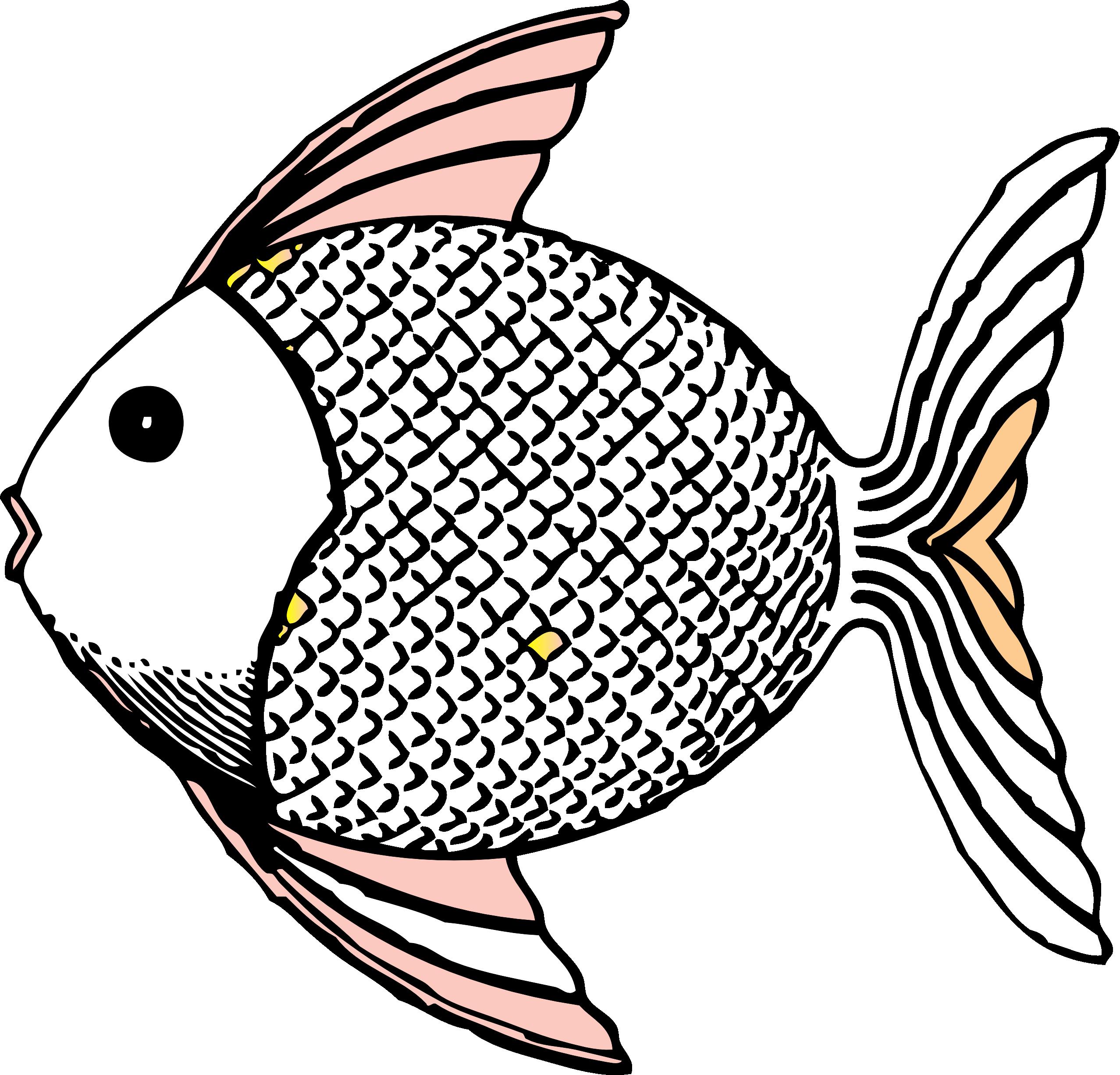 Fish Clip Art Black and White | tropical fish black white ...