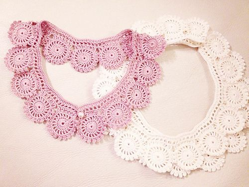 Lacy Collar Pattern By Megumi Saito Collar Pattern Ravelry And