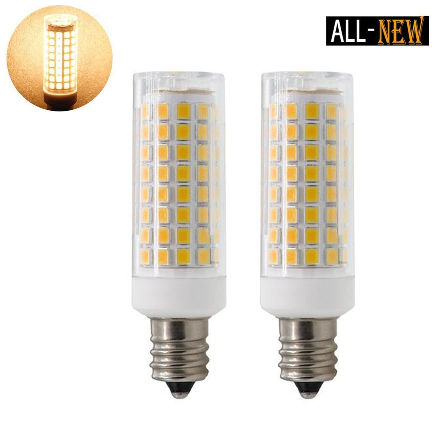 E12 Led Bulbs 75w 80w 100w Replacement 85w Halogen Bulbs Equivalent 850lm Dimmable E12 Led Light Bulbs Ac110v 120v 130 Volt Light Bulb Led Bulb Led Light Bulbs