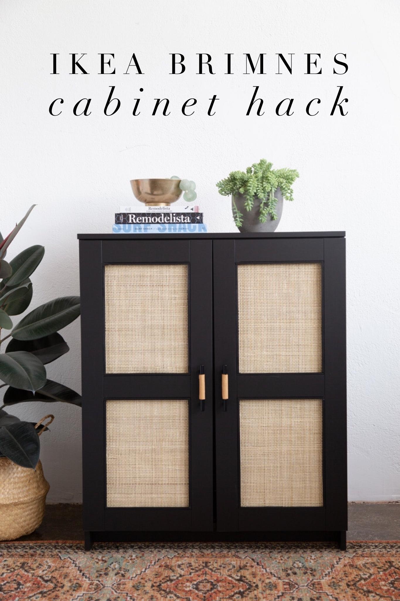 Ikea Brimnes Cabinet Hack