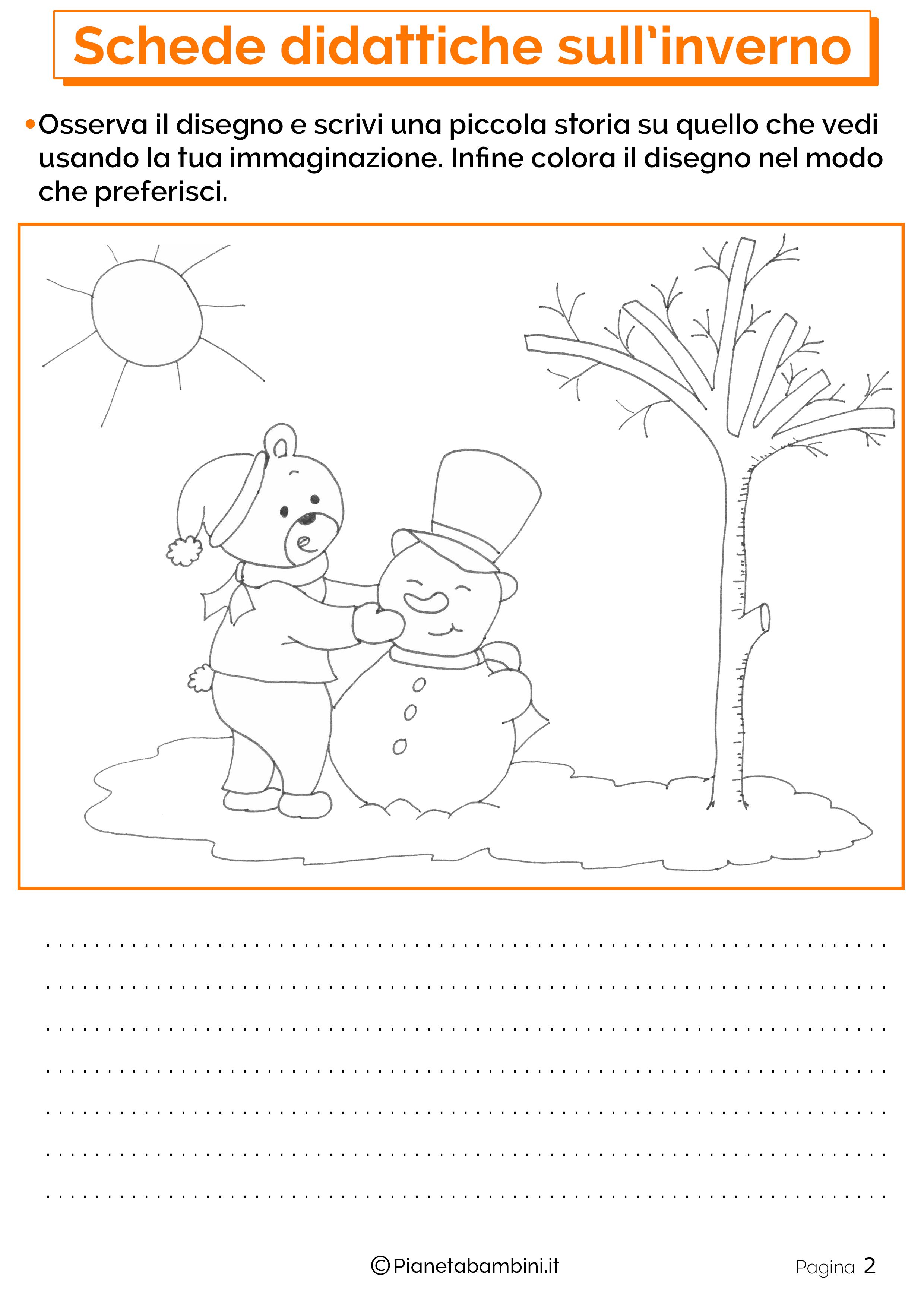 Schede Didattiche Sull Inverno Per La Scuola Primaria Racconti