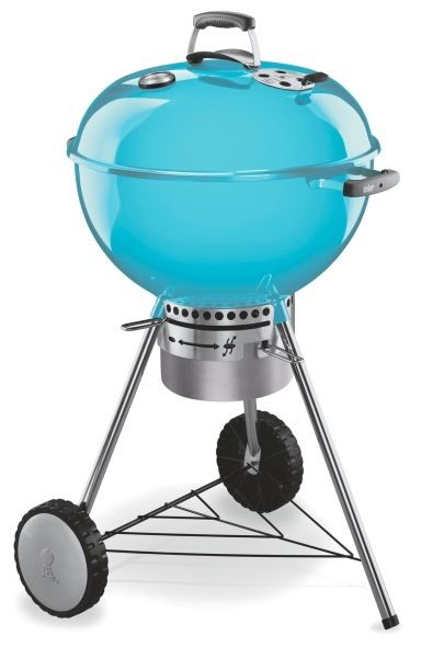 a turquoise weber charcoal bbq i need to find this in the states i want that pinterest. Black Bedroom Furniture Sets. Home Design Ideas