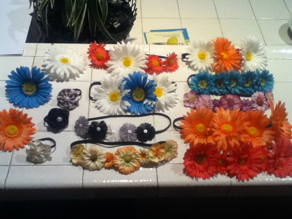 Head bands hand made! $5 each