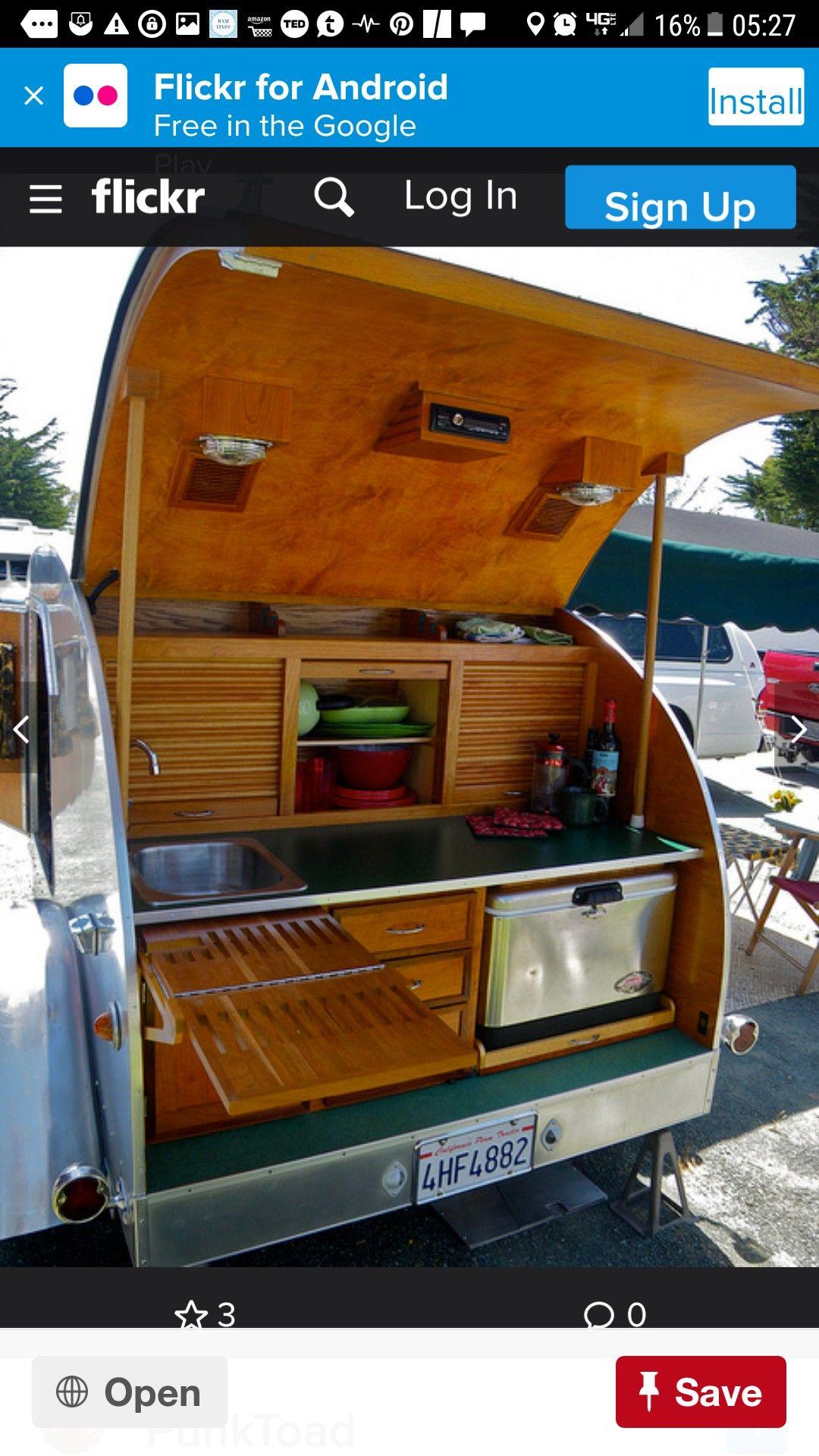Pin by Paul Bittengle on Teardrop Campers Custom camper