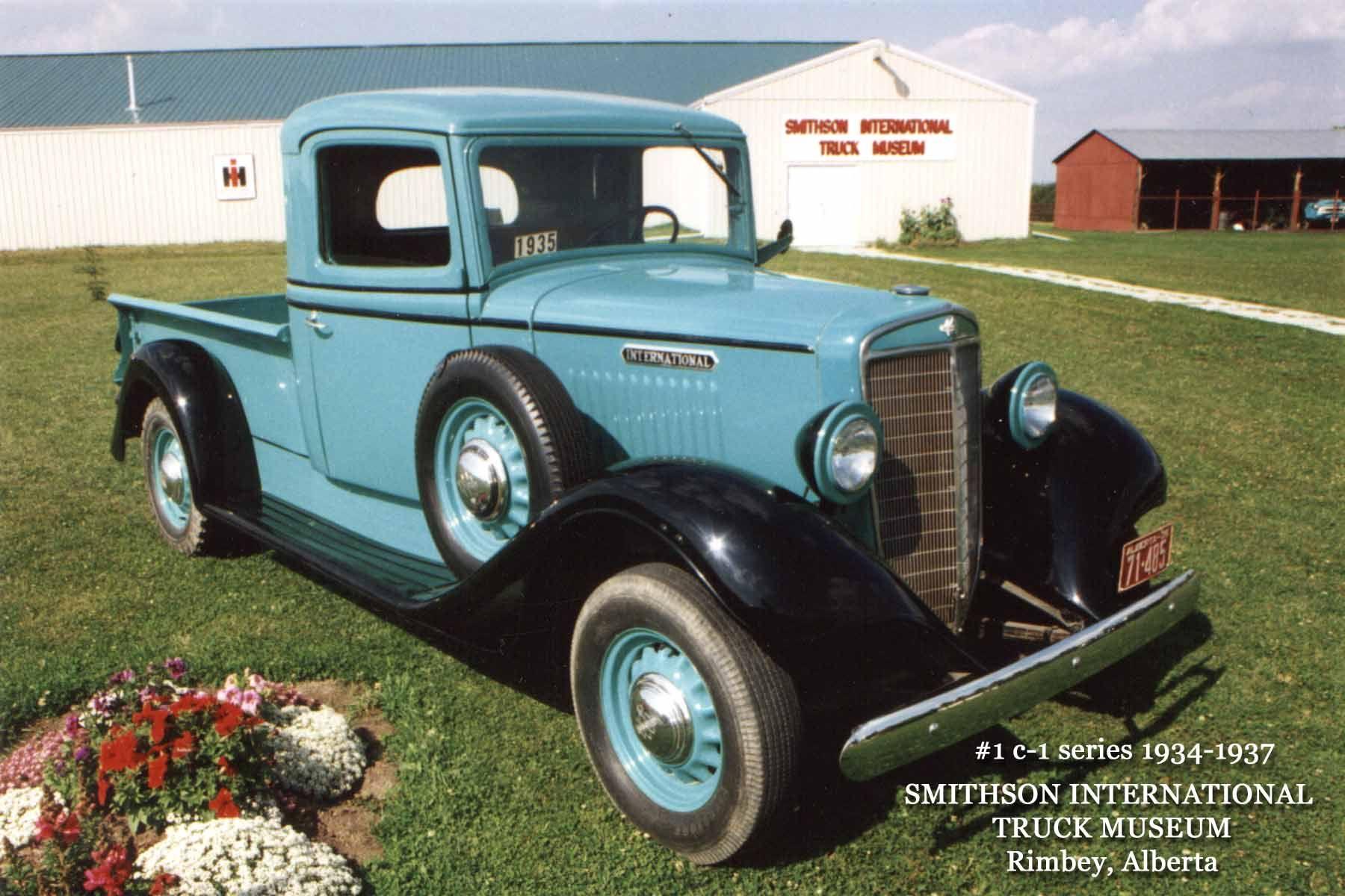 1935 International Truck International truck, Antique