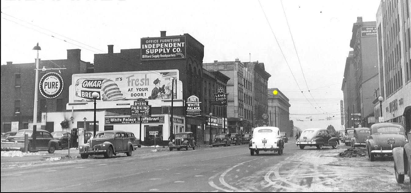 Here Is A Cold Day In Downtown Columbus From 19 Feb 1948 Do You Recognize