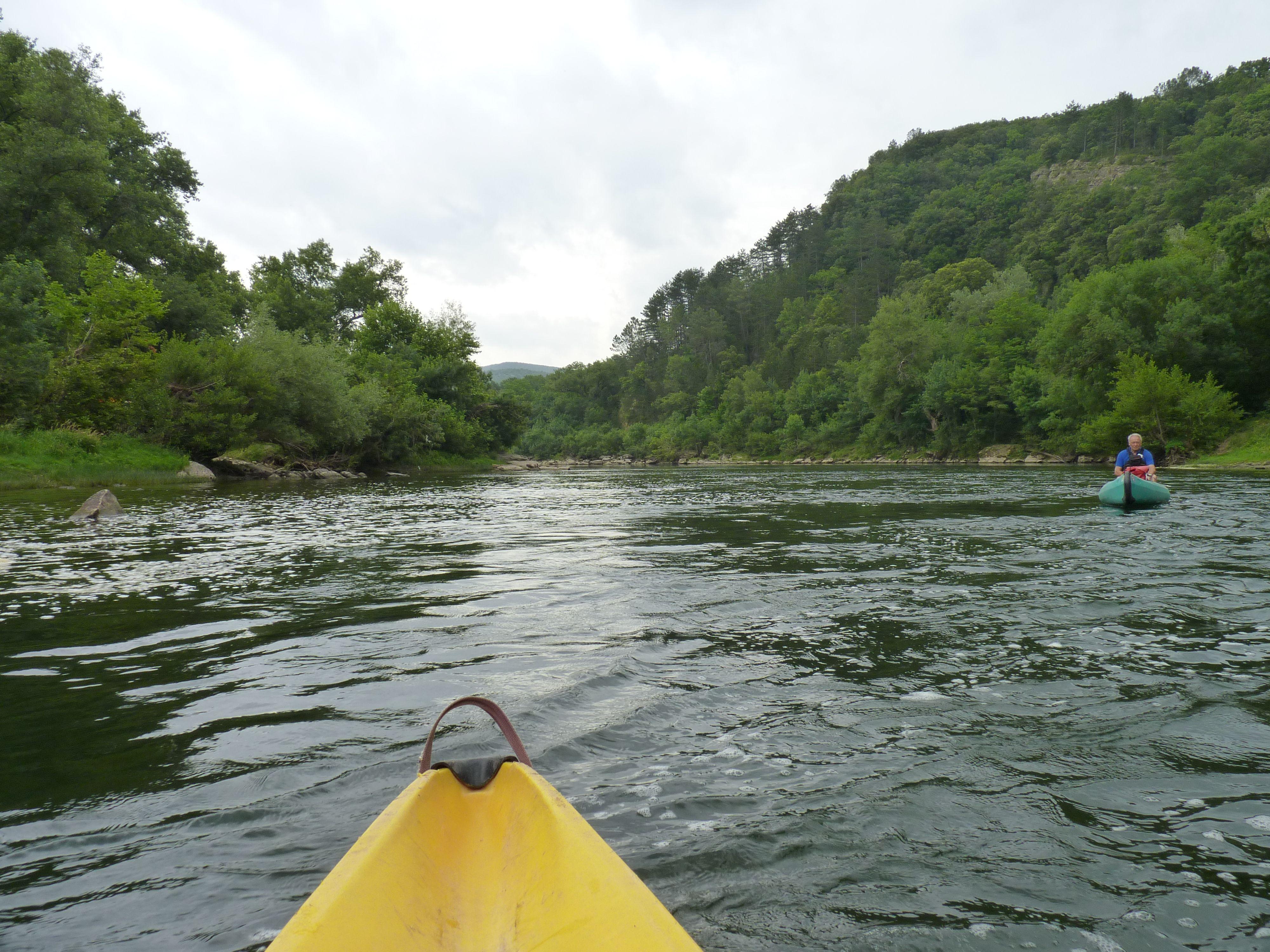 Río Ardèche.