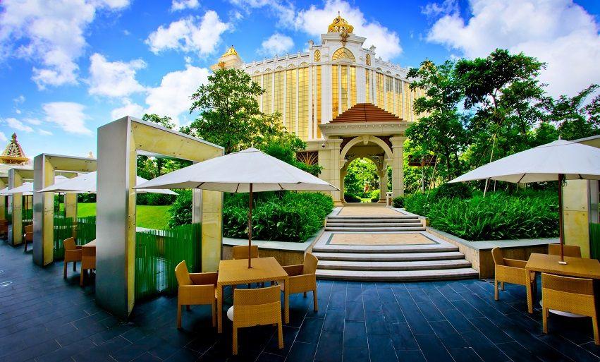 Hotel Okura Macau - Outdoor Terrace