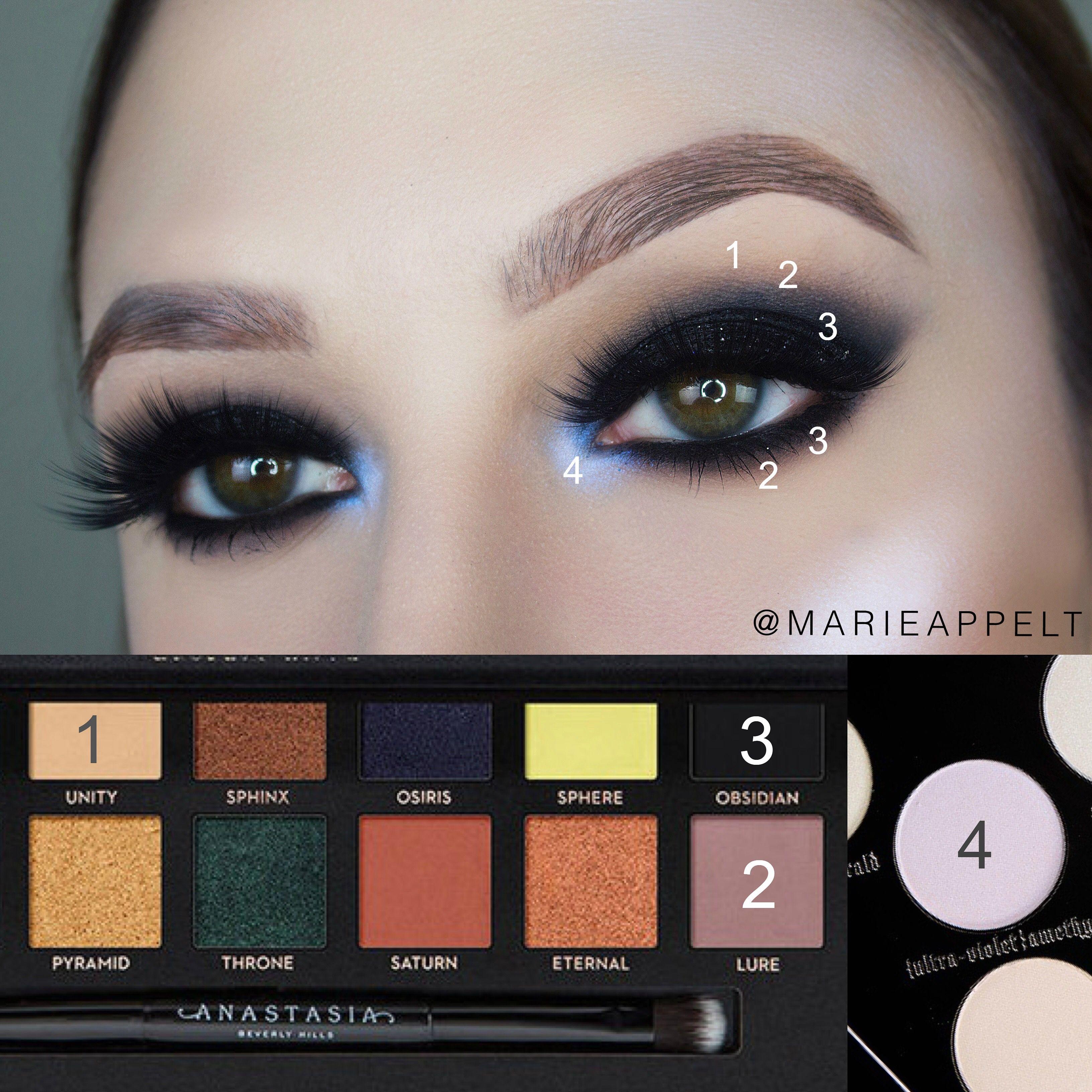 ABH Prism Palette Makeup Tutorial yt / insta marieappelt