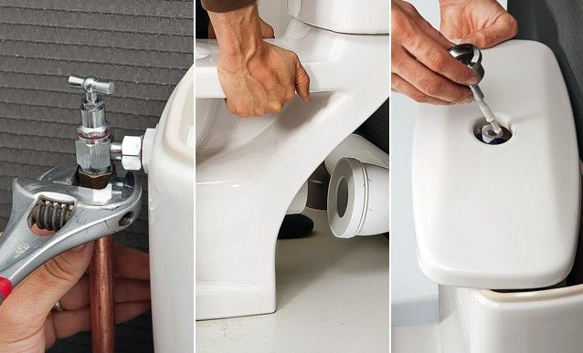 Comment installer un W-C monobloc traditionnel