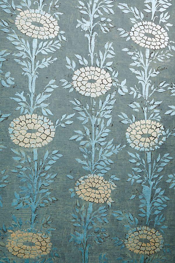 French Marigold Textured Wallpaper Textured Wallpaper Wallpaper Anthropologie Wallpaper