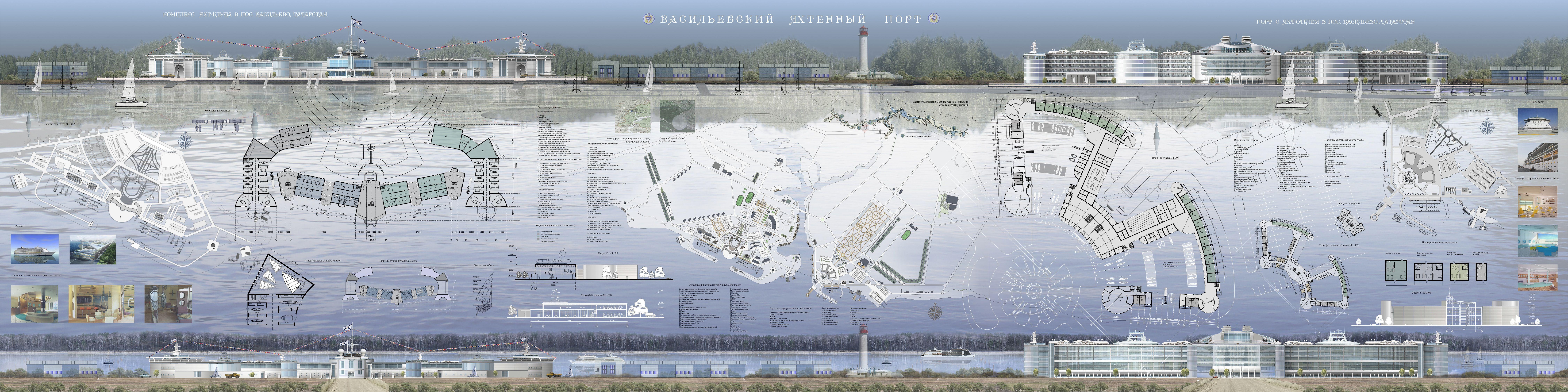 Дипломный проект Яхтенный порт  Дипломный проект