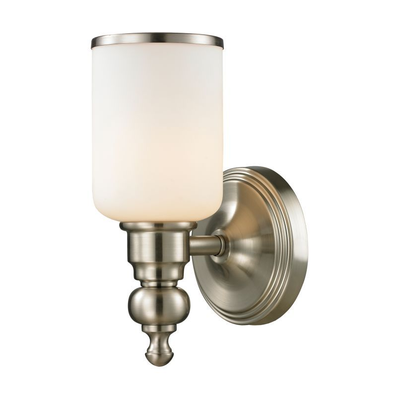 Elk Lighting 115801 Bristol Way 1 Light 10 Bathroom Sconce with