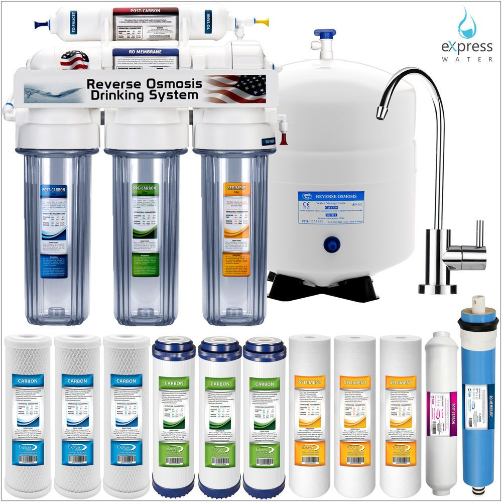 Home Drinking Water 5 Stage Home Drinking Reverse Osmosis System Plus Extra 7 Express