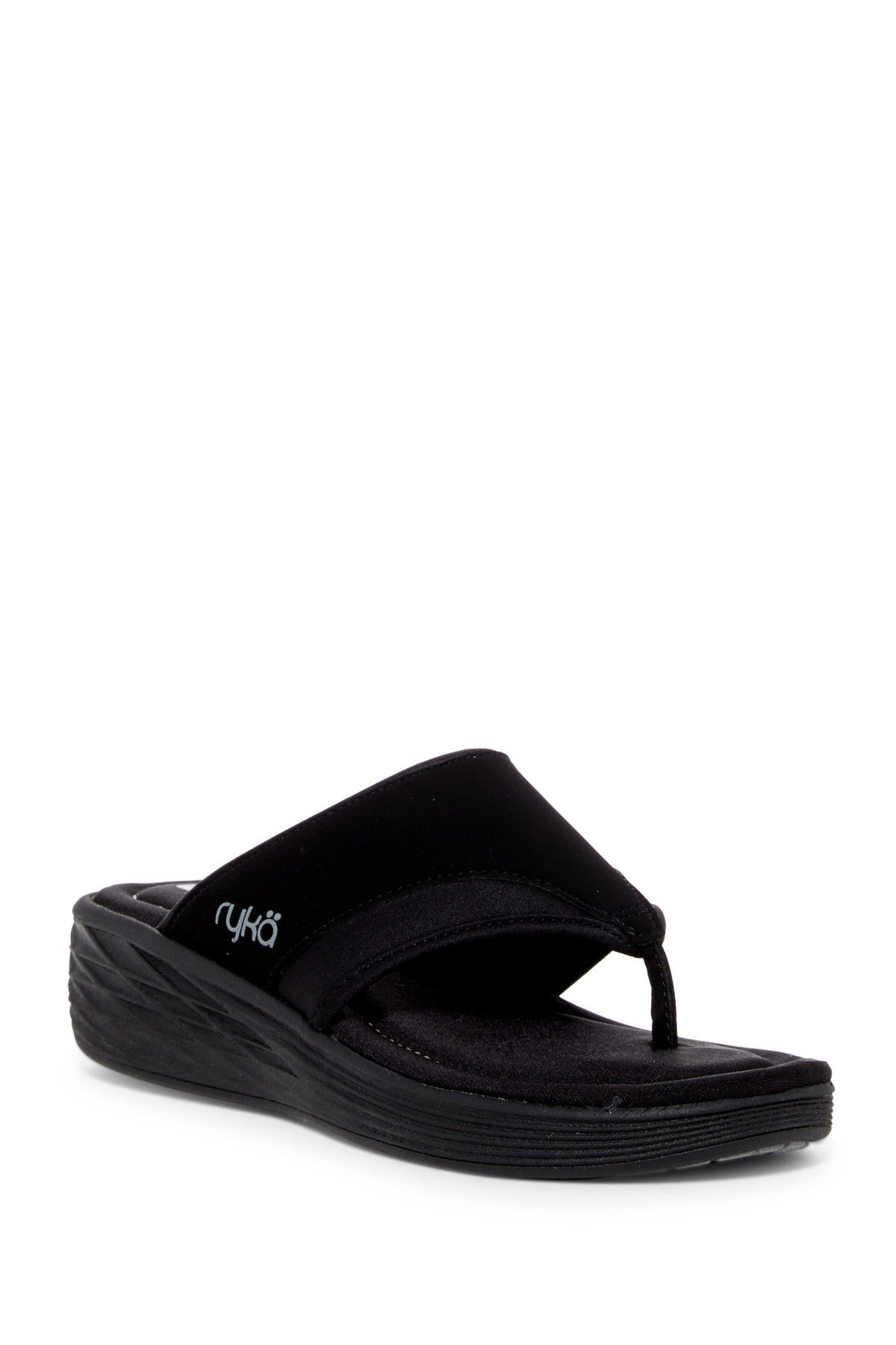 Ryka  Natalia Wedge Sandal Women - Wide Width Available -3808