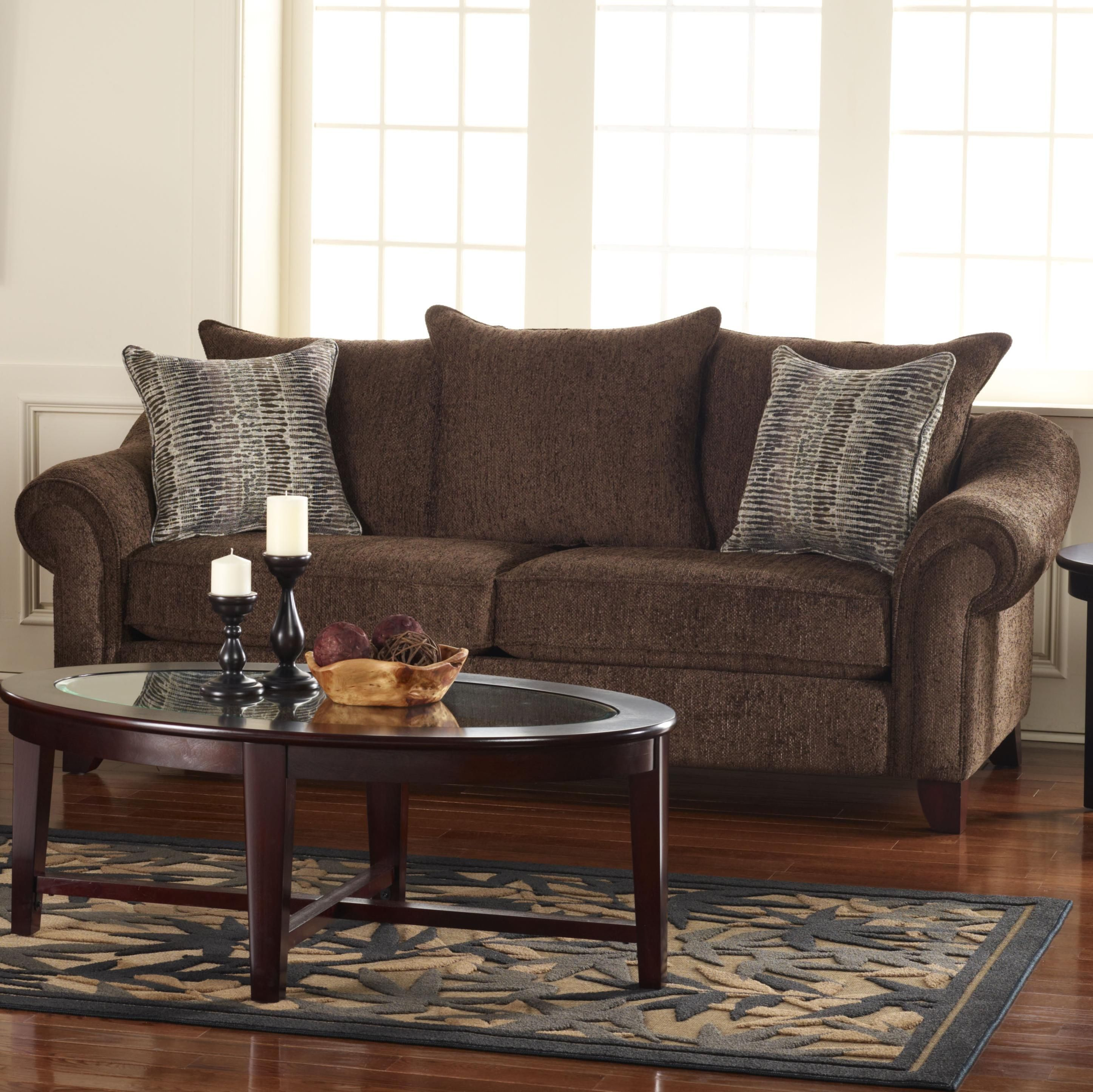 510111   Vernon Living Room Sofa With Casual Elegance | *Get Your Friends  Discount :