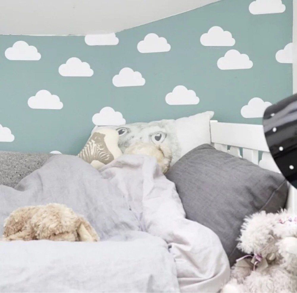 Cloud pattern Wall Sticker Baby bedroom